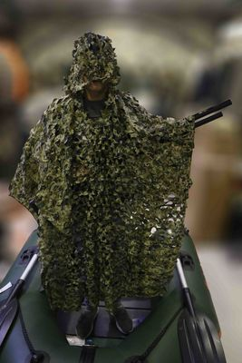 Atef Panço Yeşil Gizlenme Ağı Kamuflajlı